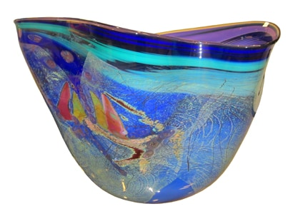 Large Glass Vessel