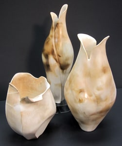 Smoked Porcelain Vessels