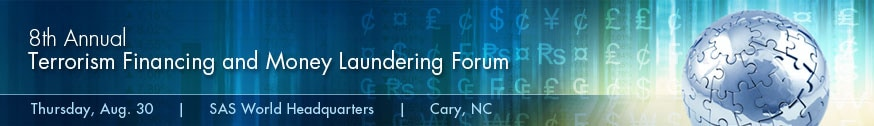 8th Annual Terrorism Financing and Money Laundering Forum