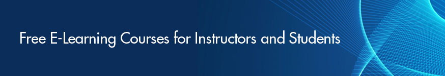 Free E-Learning Courses for Instructors and Students