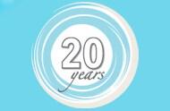 CoE 20 years logo