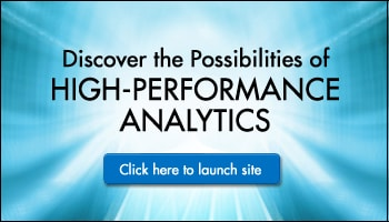 Launches SAS High-Performance Analytics Site