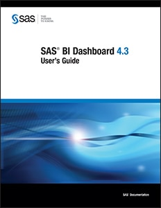 SAS® BI Dashboard 4.3: User's Guide