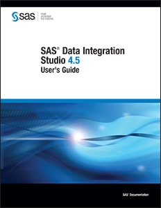 SAS® Data Integration Studio 4.5: User's Guide