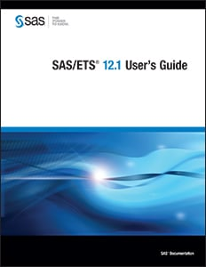 SAS/ETS® 12.1 User's Guide