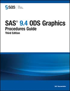 SAS® 9.4 ODS Graphics: Procedures Guide, Third Edition