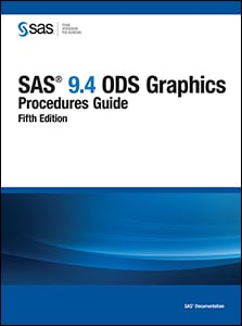 SAS® 9.4 ODS Graphics: Procedures Guide, Fifth Edition
