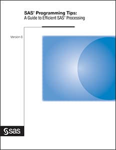 SAS® Programming Tips: A Guide to Efficient SAS® Processing