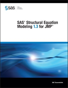 SAS® Structural Equation Modeling 1.3 for JMP®