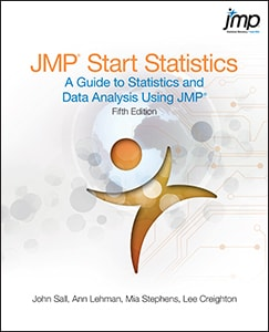 JMP® Start Statistics: A Guide to Statistics and Data Analysis Using JMP®, Fifth Edition