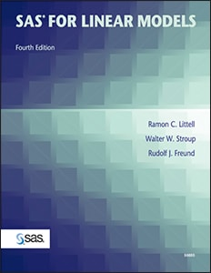 SAS® for Linear Models, Fourth Edition