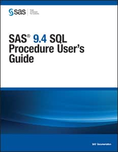 SAS® 9.4 SQL Procedure User's Guide