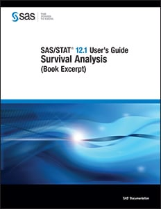 SAS/STAT® 12.1 User's Guide: Survival Analysis (Book Excerpt)