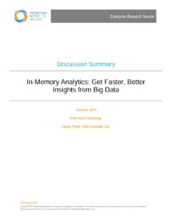 In-Memory Analytics
