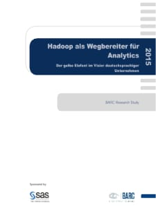 BARC-Studie 2015: Hadoop, Analytics, Big Data - Studie