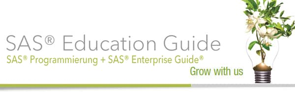 SAS Education Guide - SAS Programmierung + SAS Enterprise Guide