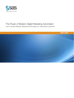 The Power of Digital Marketing Automation - White Paper