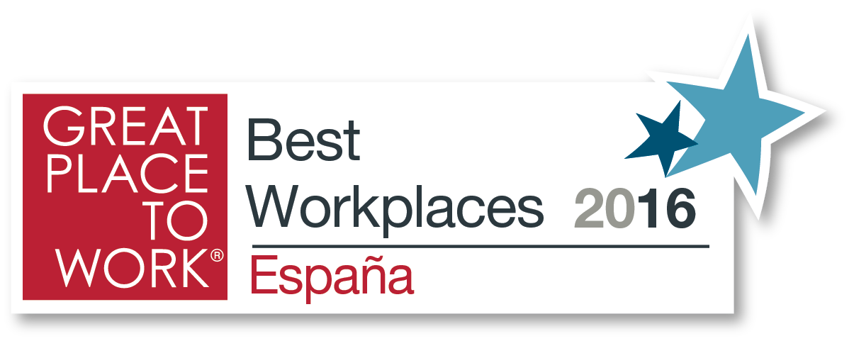 Logo: Great Place to Work: Best Workplaces 2106 - Espana