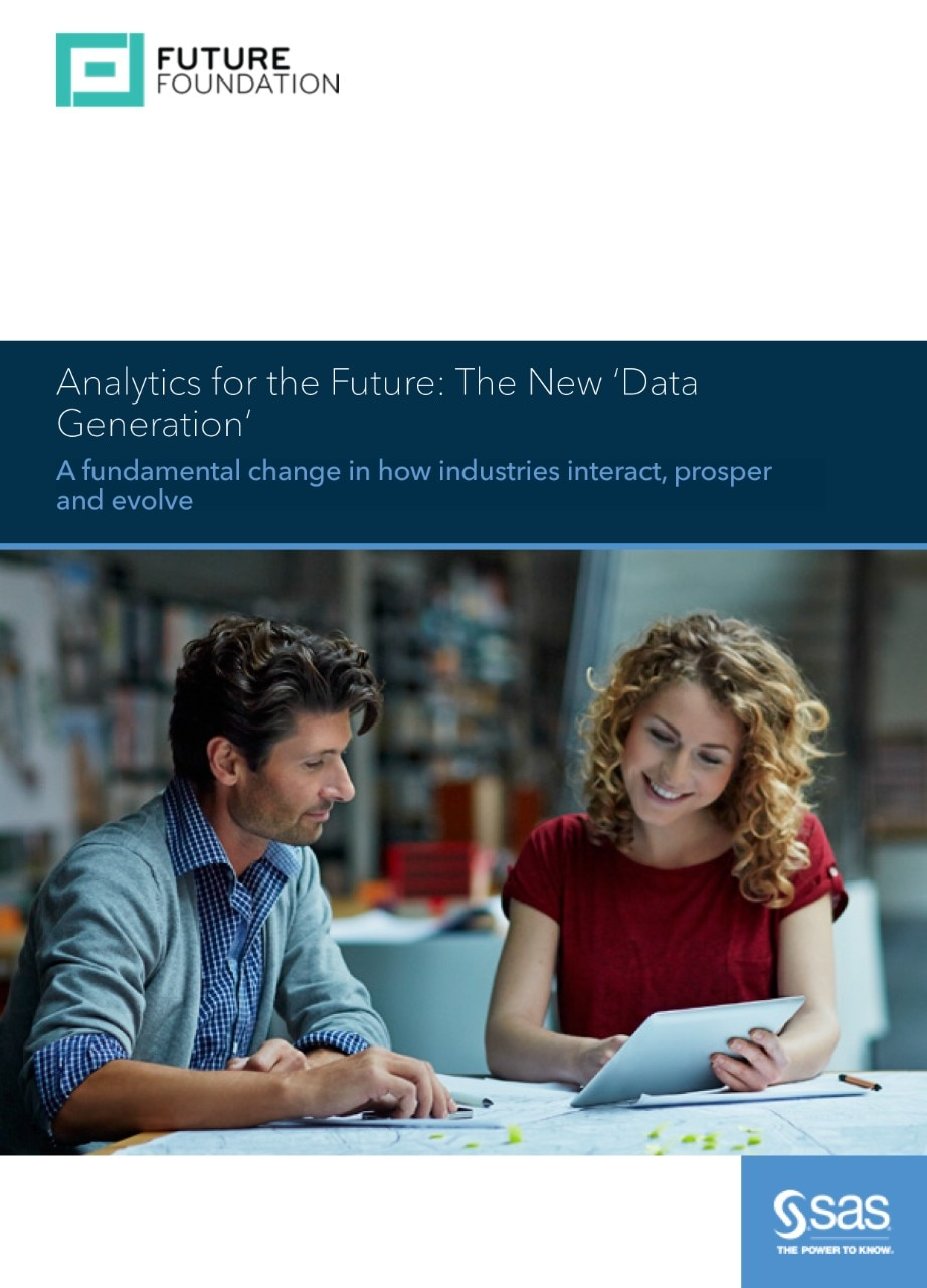 Analytics for the future: The New 'Data Generation'