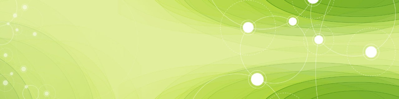 Abstract art - green with circle overlays