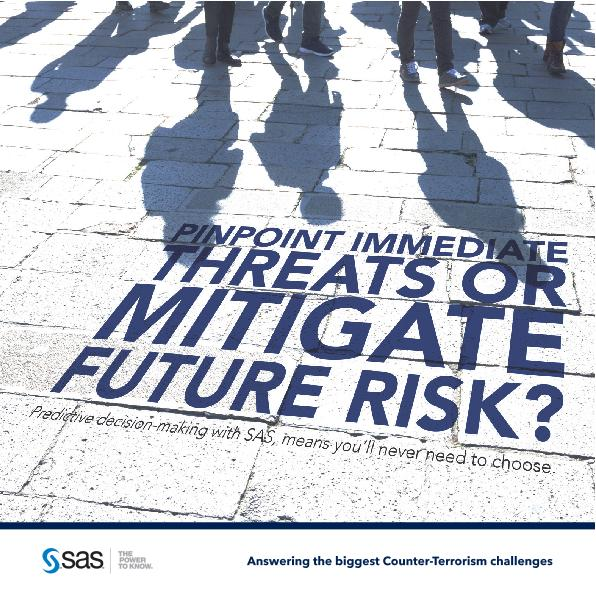 Pinpoint immediate threats or mitigate future risk