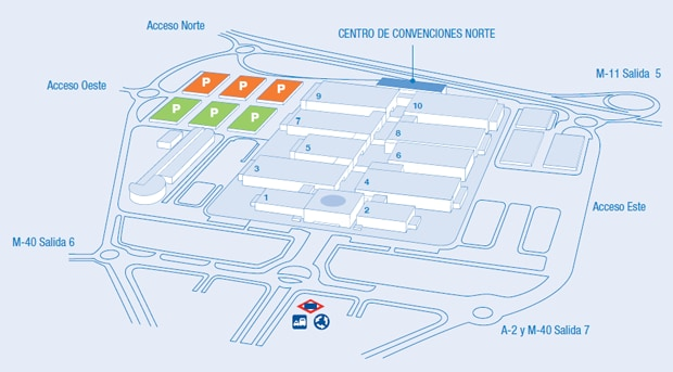 SFE14 - Map image - Madrid IFEMA