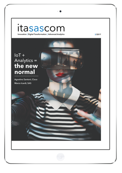 iPad Frame with itasascom magazine 2, 2017 cover in it