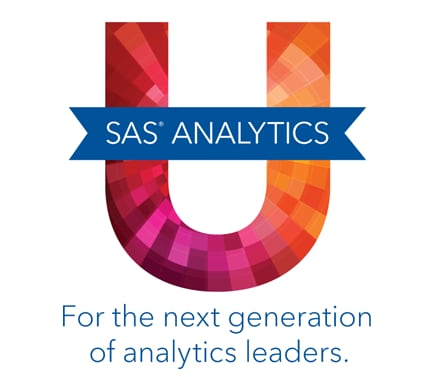 SAS Analytics University logo