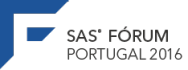 SAS® Forum Portugal 2016