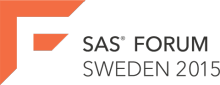 SAS Forum Sweden 2015