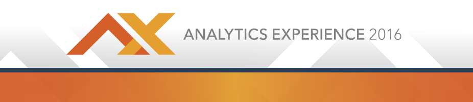 Analytics Experience 2016 CVENT Header