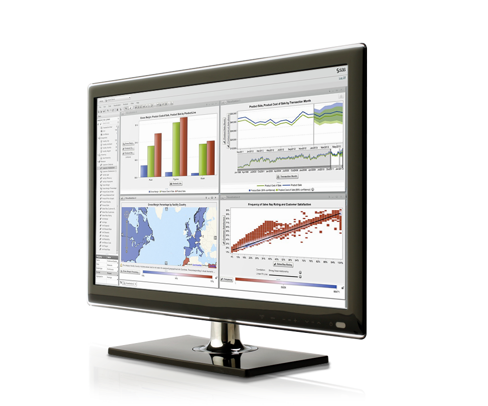 Business Intelligence Data Visualization right nonsurface
