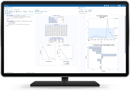 SAS/QC® Software Screenshot for Handling Big Data
