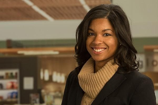 headshot of Khaliah Cothran, former SAS intern and current SAS employee