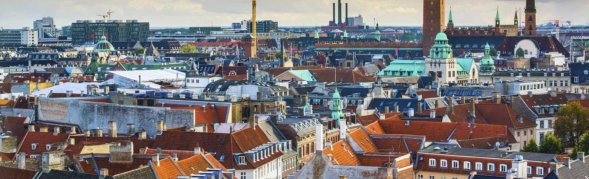 Copenhagen rooftop view
