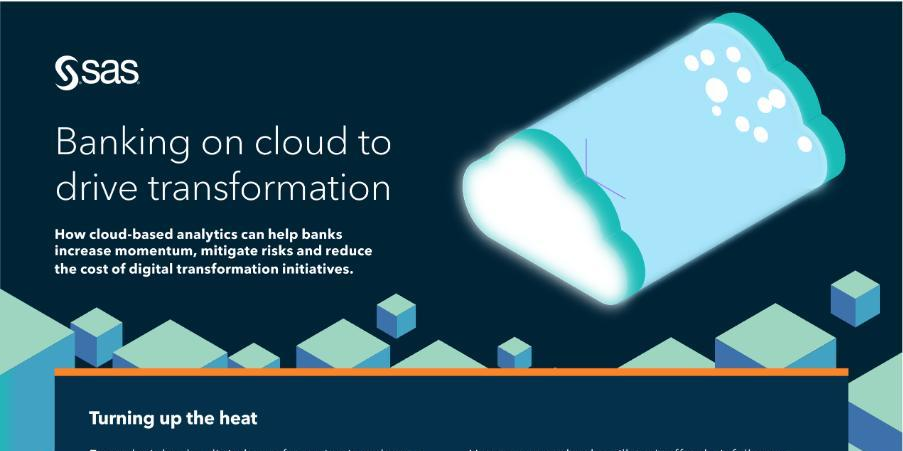 Banking on cloud to drive transformation
