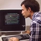User interface from the 1980s