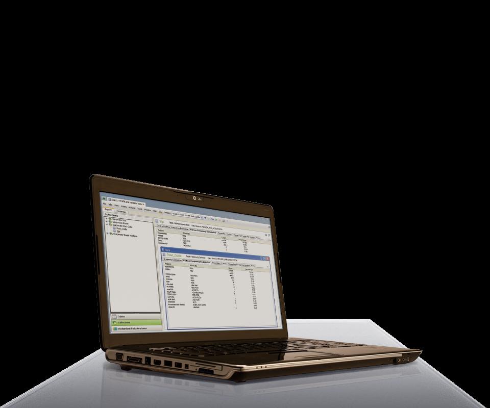 Datenqualität für den Mittelstand Vorschau Desktop-Anwendung