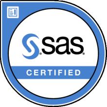 SAS Certified Digital Badge