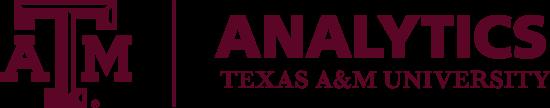 Texas A&M University Analytics logo