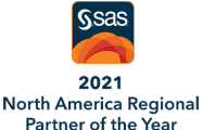 SAS 2017 Global Partner of the Year Badge