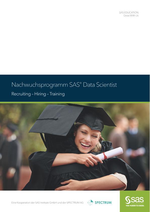 Nachwuchsprogramm SAS® Data Scientist