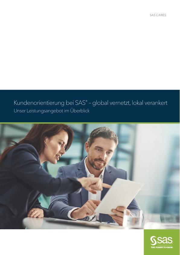 Kundenorientierung bei SAS®