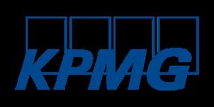 KPMG logo in blue