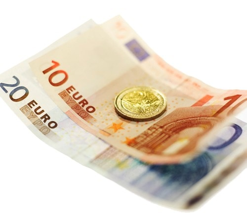 Euro money - notes and coins