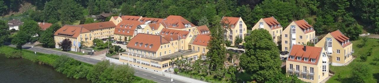 Heidelberg Haarlass Panorama Luftbildaufnahme
