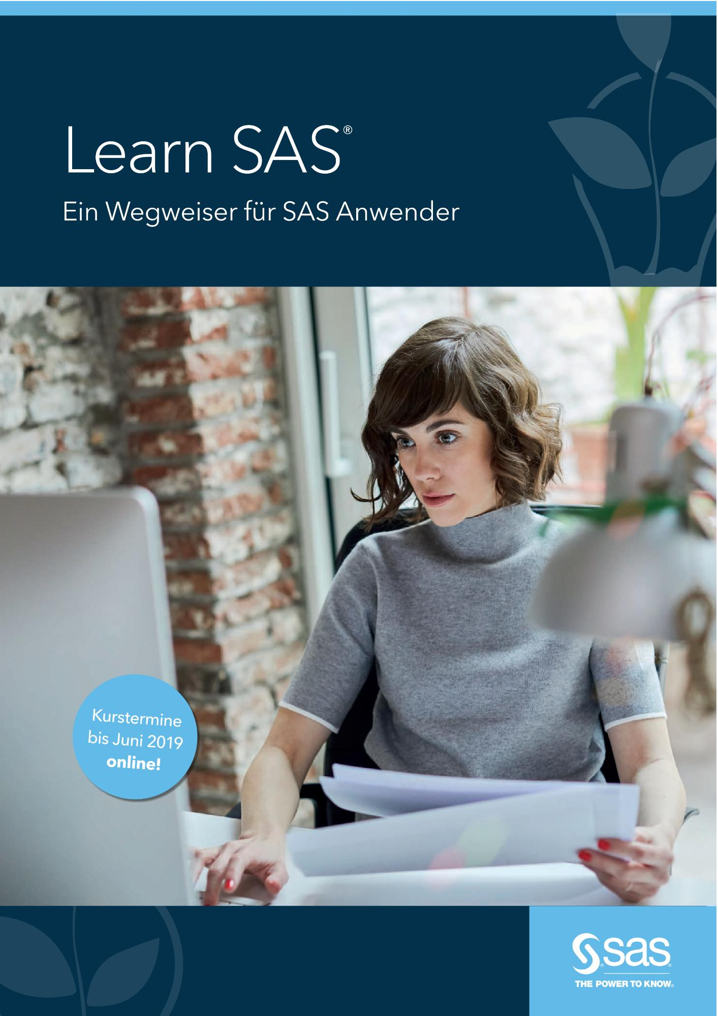 Learn SAS - Ein Wegweiser für SAS Anwender