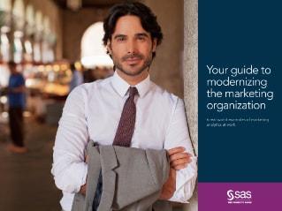 Ein E-Book für modernes Marketing von SAS