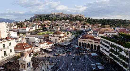 Greece - Athens skyline