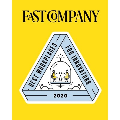 Fast Company's Best Workplace for Innovators